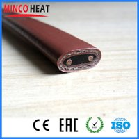 Wholesale m V MM Width W M self regulating heater cable for freeze protection and process temperature maintain