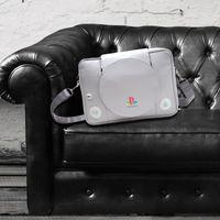 artwork stores - Sony Playstation Messenger Bag Playstation Console Shaped Messenger Bag IN STORE SAME DAY SHIPPING