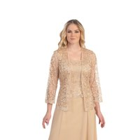 Wholesale Elegant Champagne Bolero Jackets for Bride Spring with Custom Made Sexy Sheer Lace Applique Long Sleeve High Quality Wedding Wraps
