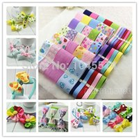 Wholesale 65 meters hot sale Mixed Dot Ribbons Set Satin ribbons DIY tapes Lace trimming fabric for hair bow and ribbon bow material