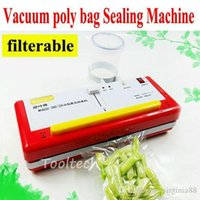 Wholesale New design High quality Multifunction Mini Vacuum Food Sealer Packaging Sealing Machine Vacuum Packer with filter Home Appliance