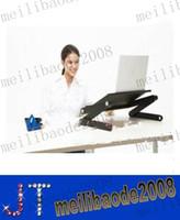 Wholesale New foldable laptop table lap desk bed table taportable laptop stand foldable laptop adjustable table laptop desk MYY11125A