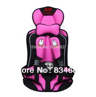 Wholesale Baby Car Seat Cushion Child Car Safety Seat Safety Car Seat for Baby of KG and Months Years Old Pink Color Annbaby