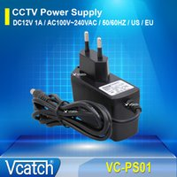 Wholesale Vcatch CCTV V mA DC Out V AC In Hz Charger Power Supply for CCTV Camera