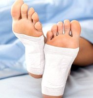 detox foot - 10Pieces New Personal Detox Foot Patch Bamboo Pads Patches Foot Pads Patches Health Feet Care