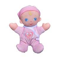 Vente au détail 25cm Kawaii Reborn Baby Dolls hochets Poupée Reborn bébés Bébé Toy 2016 Haute Qualité Bébé Reborn Hot Toys For Girls Appease Toy
