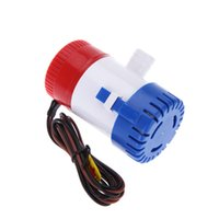 Wholesale 12V V GPH Car Pumps Automatic Submersible Boat Marine Bilge Water Pump Equipment for RV Fishing Boat Caravan