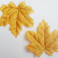 autumn leaves garland - x Artificial Maple Leaf Garland Silk Autumn Fall Leaves Wedding Garden Decor