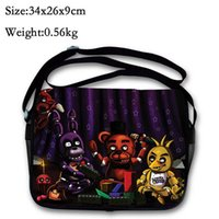 Wholesale Five Nights at Freddy s toy schoolbag Five Nights At Freddy figure messenger bag single shoulder bag
