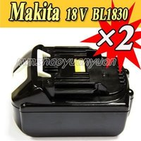Wholesale 2 Packs New Makita V Compact Lithium Ion Battery BL1830 for Cordless drill order lt no track