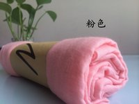 Wholesale Pure cotton Korean version of the fall and winter long section of cotton scarves large shawl literary Sen female long scarf factory outlets