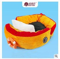 cat litter - new luxurious Suede fabric Corsair pet dog cat litter full washable dog bed pet house
