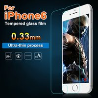 Wholesale For iPhone s plus plus Premium Tempered Glass Film Screen Protector For Samsung Galaxy note7 S6 Edge S3 S4 S5 Note4