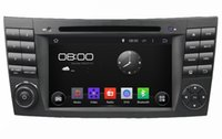 """Mercedes-Benz E-Class W211 CLS W219 G-Class W463 2001-2008 1024*600 4-core Android 4.4 HD 2 din 7"""" Car DVD Player for Benz E-Class W211 CLS W219 G-Class W463 With GPS 3G WIFI BT IPOD TV USB Radio AUX"""