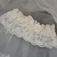 beautiful feminine - Beautiful Lace Bridal Garters High Quality Bowknot Wedding Garters Wedding Dress Accessories