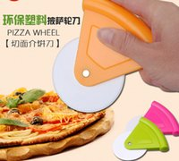Wholesale Pizza wheel cutter round cake knife baking tools