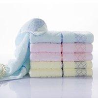 Compressed bath cubes - face towel Water Cube bath towel cotton gift face cloth blue cream pink home textile