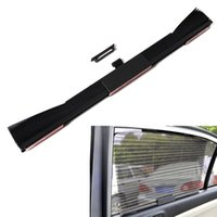 Wholesale Durable Car Retractable Window Sun shading Curtain Heat insulated Black