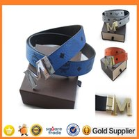 big letter box - HOT Big large Buckle Fashion belt buckles Men s Belt Genuine Leather Belts Leique Texture belt leather men Belts for men women with box