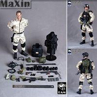 Wholesale 1 Figure Soldier Model Task Ranger Delta Force Team Leader Special Forces Tactical Uniform Blackhawks Captain Action Figure order lt no tr