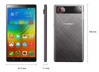 Wholesale Lenovo K920 Mini VIBE Z2 G LTE Cell Phone inch x720 MSM8916 Quad Core ROM32GB mah Android4 OS MP smartphone