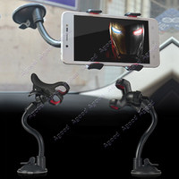 Wholesale Universal Car Holder Windshield Cell Phone Mounts Bracket For Iphone S4 mobile phones SV004217