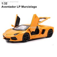 aventador lp - Aventador LP Murcielago Metal Alloy Diecast Scale Model Car Toy Miniature Sound and Light Boys Gift with Simple Package