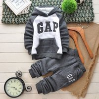 Cheap 2015 New kids cool hoodies+pants 2pcs baby clothing set ,for kids set warm for winter for girls and boys
