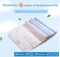 Wholesale Adult reusable and Waterproof Sheet Protector Breathable Incontinence Bed Pad