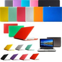 Wholesale DHL free Frosted Matt Rubberized Translucent Front Back Hard PC Case Cover for Air inch Pro Macbook Netbook