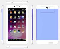 5pcs / pack de 7 pulgadas super delgado tableta IPS 3G núcleo Quadl caso de doble cámara 4gb / 8gb de metal envío libre 1024x600 pantalla