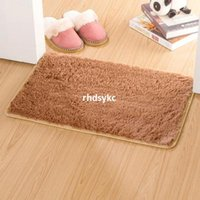 bathroom tables - 10pcs rugs carpet Thick gold velvet slip mat door mat carpet mats bedroom living room coffee table bedside