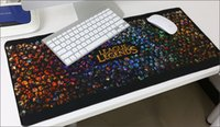 Wholesale 2015 Hot Fashion Solid Color Gaming Grade Mouse Pad Big Size LOL League of Legends Baymax Big Hero Picture