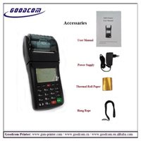 Wholesale Handheld GSM Terminal with Built in Thermal Printer for Financial Service via SMS GPRS USSD