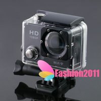 Wholesale Newest Gopro Hero style G2 extreme sport camcorder waterproof m P HD wifi sj4000 style high quality Sport DV C