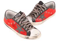 Wholesale 2014 New GOLDEN GOOSE GGDB men women low sneakers Casual shoes G25U590 T3