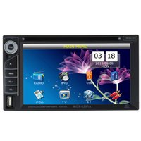 Wholesale Univerdal Car DVD Player inch DIN Touch TFT Display DVD Player DVD MP4 MP3 VCD CD CD R Player A