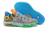 Cheap Cheap Kevin Durant Basketball Shoes Air KD 6 VI Sports Shoes Mens Sneakers High Quality Athletics Shoes Hot Sale Ball Boots Running Cleats