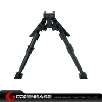 Bipods adjustable rails - CNC Aluminum Rifle Bipod Tactical Adjustable With Picatinny Rail MountNGA0604