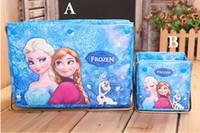 Wholesale Popular Cartoon Frozen Princess Elsa Anna Home Storage Boxes Children Girls Favorite Home Decorations Foldable Lovely Sweet