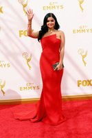 ariel green dress - 67th Emmy Awards Celebrity Dresses Mermaid Ariel Winter In Strapless Neckline Prom Gowns Red Carpet Evening Dress