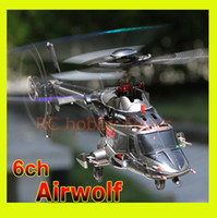 airwolf helicopters - Walkera RC helicopter Airwolf SD3 flybarless triple bladed ch brushless helicopter DEVO8S touch screen Radio