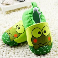 animal print fabric for sale - 2015 Autumn Hot Sale Baby First Walker Shoes Cartoon Printed Shoes For Little kids Slip on Cotton Prewalker For Baby CR134