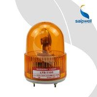 Precio de El tráfico dc-IP44 12/24/110/220 / 380V AC / DC LED impermeable llevado tornillo de rotación advertencia de seguridad Indicador de luz de flash de tráfico amarilla conexión