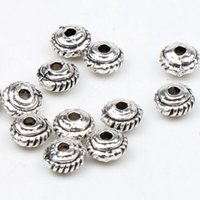 bead disc - 500pcs MIC X2 mm Tibetan Silver Round Gear Disc Beads Spacers Spacer Jewelry Findings Components