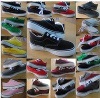 Dropshipping 2015 nuevas mujeres de marca de diseñador y los hombres de moda los zapatos de lona clásicos ocasionales zapatillas de deporte planas de los zapatos más tamaño 35-45