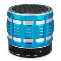 Wholesale Portable Mini Bluetooth Speakers Metal Steel Wireless Smart Hands Free Speaker With FM Radio Support SD Card DHL