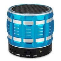mini radio - Portable Mini Bluetooth Speakers Metal Steel Wireless Smart Hands Free Speaker With FM Radio Support SD Card DHL