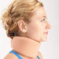 Wholesale Soft neck support Samderson cervical spondylosis treat fixed corrector pad Professional unisex Skin color adjustable protector