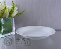 venda por atacado porcelain plates-Ellipse Deep Plate cerâmica Durable Insólito hotel Restaurante Jantar Plate Porcelain Dinner Plates cerâmica Unique Design For Sale